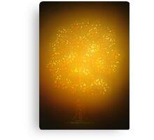 Illuminating Royal Oak Canvas Print