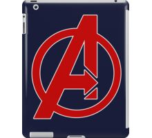 Avengers - Logo - Red iPad Case/Skin
