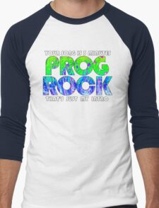 Prog Rock Liquid 3 Minutes Men's Baseball ¾ T-Shirt