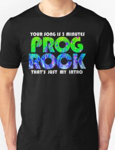 Prog Rock Liquid 3 Minutes Unisex T-Shirt
