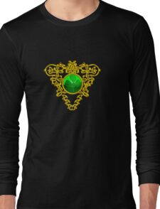 ST. PATRICK'S CELTIC HEART WITH GREEN SHAMROCK Long Sleeve T-Shirt