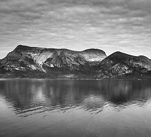 Norway landscape by Sandra Kemppainen