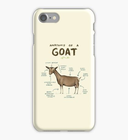 Anatomy of a Goat iPhone Case/Skin