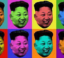 50 Shades of Kim Jong-un Art by RBSTORESSX