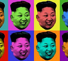 50 Shades of Kim Jong-un Art by RBSTORESSX