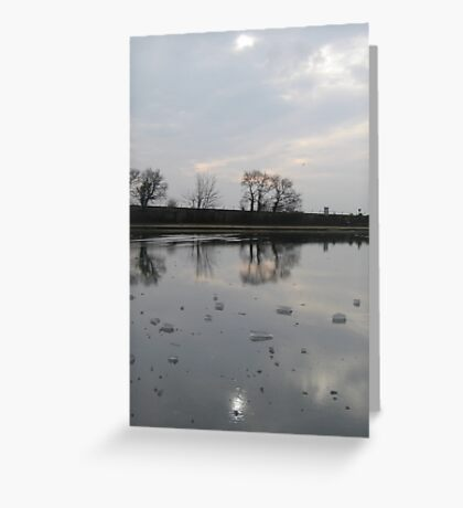 Frozen Reflections Set Greeting Card