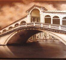 Rialto Bridge (Venezia) by BRIMMER