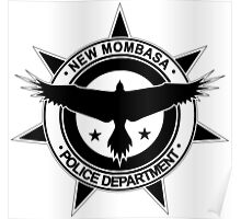 Halo, New Mombasa Police Department logo Poster