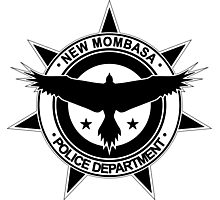 Halo, New Mombasa Police Department logo Photographic Print