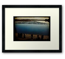 Low Tide at the Bayou Framed Print