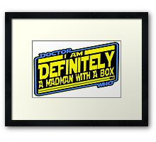 Doctor Who: The TARDIS Strikes Back Framed Print