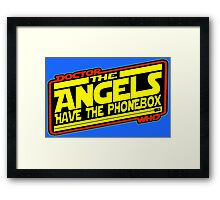Doctor Who: The Angels Strike Back Framed Print