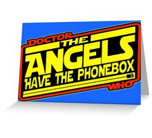 Doctor Who: The Angels Strike Back Greeting Card