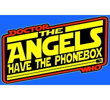 Doctor Who: The Angels Strike Back Photographic Print