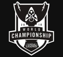 League of Legends 2015 World Championship BLACK Kids Clothes