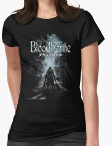 BloodBorne01 Womens Fitted T-Shirt