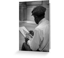 An Artist's Life Greeting Card