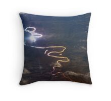Light Reflection From the Sky Throw Pillow