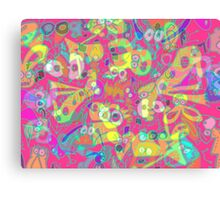 pink cheese delirium Canvas Print