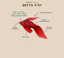 Anatomy of a Betta Fish T-Shirt