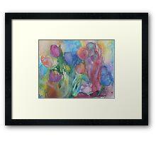 Fresh Tulips Framed Print