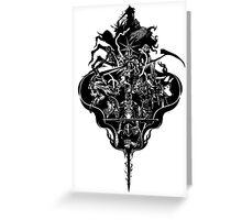 My Dark Soul Greeting Card