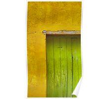 Puerta Verde Poster
