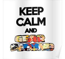 Keep Calm And Gear Second ! Poster