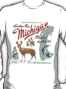 Sufjan Stevens- Greetings from Michigan T-Shirt