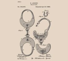 Hand cuff Patent 1880 by chris2766