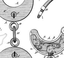 Hand cuff Patent 1880 Sticker