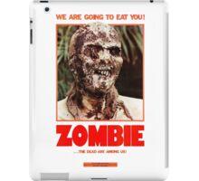 Zombie Flesh Eaters iPad Case/Skin