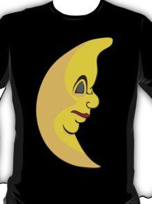Serious sleeping moon T-Shirt