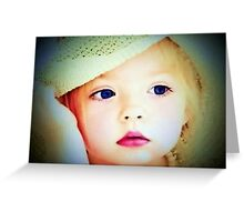 The Doll Collector:  My Precious Blue Eyes Greeting Card
