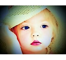 The Doll Collector:  My Precious Blue Eyes Photographic Print
