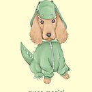 Croco-Spaniel by Katie Corrigan