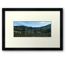 situ gunung lake # 2 Framed Print