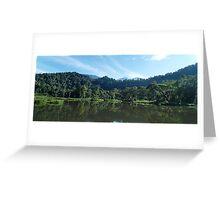 situ gunung lake # 2 Greeting Card