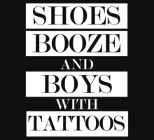 Shoes Booze Tattoos by jephrey88