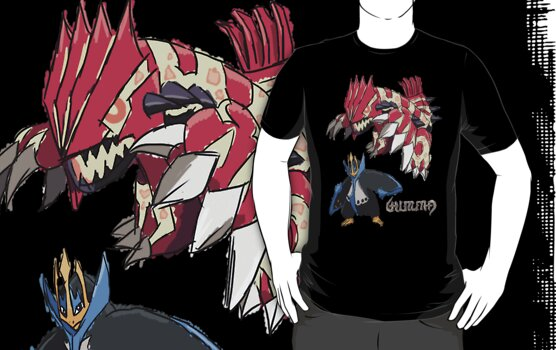 "Andy W's Primal Groudon & Empoleon"" T-Shirts & Hoodies by eevilmurray ..."