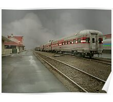 Old Railroad Depot Poster