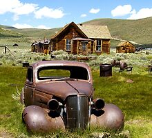 Bodie Ghost Town (164 views) by Steve Hunter