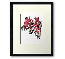 Andy W's Primal Groudon Framed Print