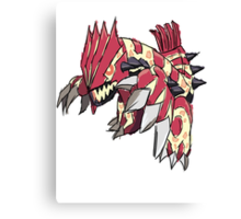 Andy W's Primal Groudon Canvas Print