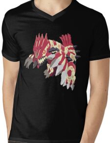 Andy W's Primal Groudon (No outline) Mens V-Neck T-Shirt