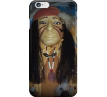 Warrior of past dreams iPhone Case/Skin
