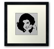 Ms Horne Framed Print
