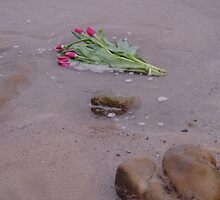 Tulips in the Sea by Adrian Wale