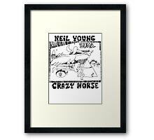 Neil Young Zuma Framed Print
