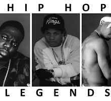Hip Hop Legends by DOPEFLVR